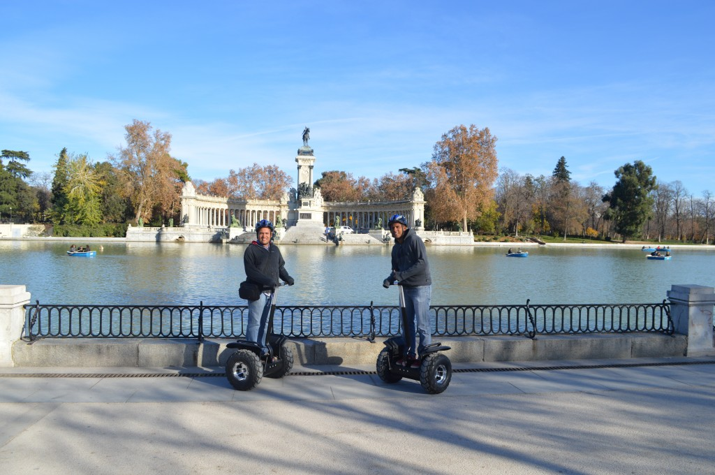 segway tour madrid retiro